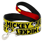 Disney Designer Pet Leash - Mickey Mouse Smiling Looking Up