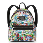Disney Mini Loungefly Backpack - Disney Parks Collage