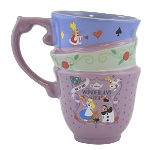 Disney Mug - Wonderland Tea - Stacked Look