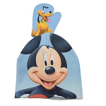 Disney Youth Hat & Glove Set - Mickey Mouse and Pluto