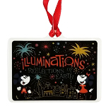 Disney Disc Ornament - Epcot Attraction - Farewell to Illuminations