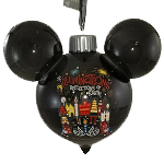 Disney Light Up Ears Ornament - Epcot - Farewell to Illuminations