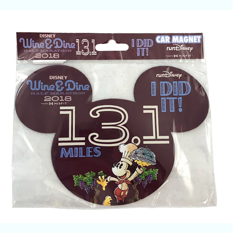 Disney Magnet - Wine & Dine Half Marathon - I DID IT! - 2018