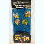 Disney 4 Pin Starter Set - 2015 Logo - Disney Characters