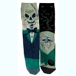 Disney Socks - Haunted Mansion Ghosts - A Ghost Will Follow You Home