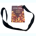 Disney Lanyard Credentials - Epcot Food & Wine Festival - 2016