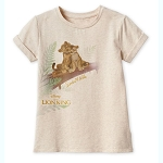 Disney Girls Shirt - Simba & Nala - The Lion King 2019 Film