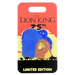 Disney Lion King Pin - 25th Anniversary - Mufasa