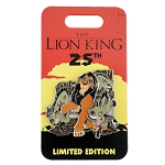 Disney Lion King Pin - 25th Anniversary - Scar and The Hyenas