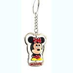 Disney Keychain Keyring - Minnie Mouse Spinner