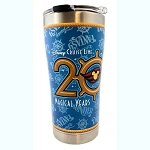 Disney Tervis Tumbler with Lid - Disney Cruise Line 20 Magical Years