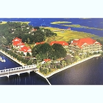Disney Postcard - Hilton Head Island Resort
