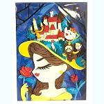 Disney Postcard - Belle - My Pretty Pretty Hat - WonderGround Gallery
