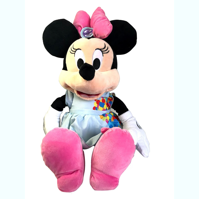 Disney Plush - Dress Shop Minnie Mouse - Pixar Up Movie - 15''
