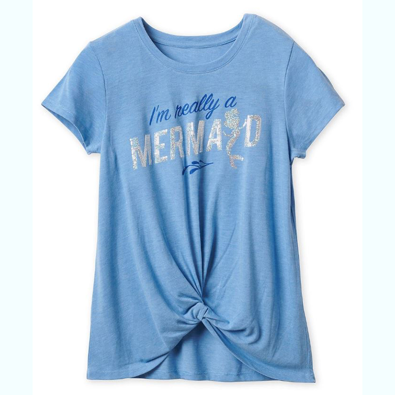Disney Women's Shirt - I'm Really A Mermaid - Ariel Fashion Tee