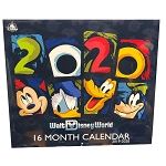 Disney Calendar - 2020 Walt Disney World - 16 Month