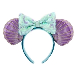 Disney Minnie Ears Headband - Ariel - The Little Mermaid 30th Anniversary