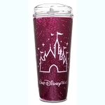Disney Travel Tumbler - Fantasyland Castle - Imagination Pink