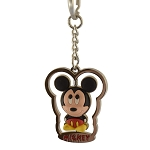 Disney Keychain Keyring - Mickey Mouse Spinner