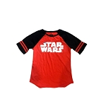Disney Women's Shirt - Star Wars Rebel Logo