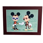 Disney Limited Edition Deluxe Print - Mickey & Minnie - Shanghai Disney