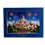 Disney Limited Edition Deluxe Print - Grand Opening - Shanghai Disney Resort