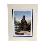 Disney Deluxe Print - Norway Pavilion Stave Church by Larry Dotson