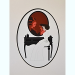 Disney Deluxe Artist Print - Leia Vanity by Ashley Taylor