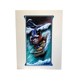 Disney Deluxe Artist Print - Mickey on a Wave by Brian Blackmore