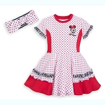 Disney Girls Dress - Minnie Mouse Dress Set