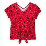 Disney Women's Shirt - Minnie Mouse Dolman Fashion Top