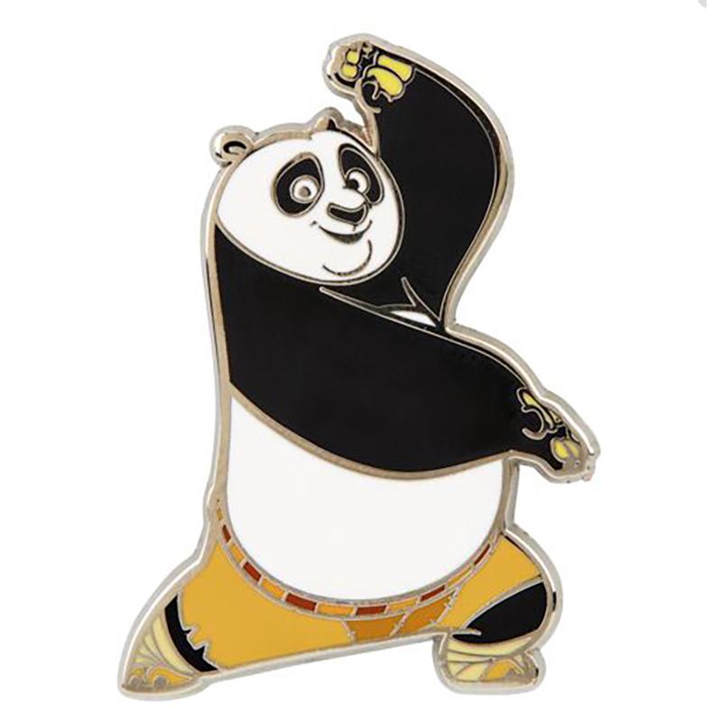 Universal Pin - Kung Fu Panda - Po Crane Stance