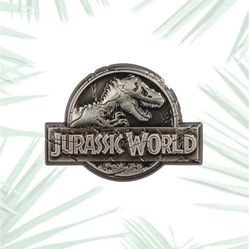 Universal Pin - Jurassic World Sculpted Logo