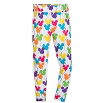Disney Women's Leggings - Mickey Mouse Balloons
