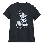 Disney Men's Shirt - Mickey Mouse - Magic Mirror Metallic