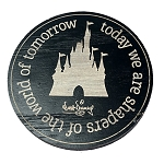 Disney Magnet - Walt Disney Quote - Today We Are Shapers of  the World of Tomorrow