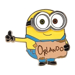Universal Pin - Despicable Me Minion Orlando Hitchhike Sign