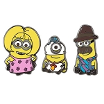 Universal Pin Set - Despicable Me Minion Family