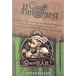 Disney Pin - Safari Mickey - Animal Kingdom Pin Quest - Official Disney QuestEAR Completer