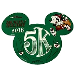 Disney Magnet - Mickey's Holiday 5K - 2016 runDisney