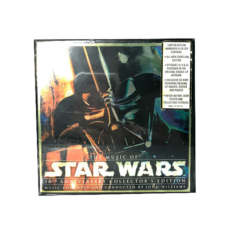 Disney 8 Disc CD Set - The Music of Star Wars - 30th Anniversary Collector's Edition