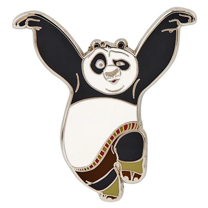 Universal Pin - Kung Fu Panda - Po Kicking