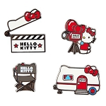 Universal Pin Set - Hello Kitty Movie