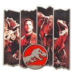Universal Pin - Jurassic World - Owen with Dinosaurs