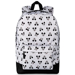 Disney Backpack - Mickey Mouse Faces - Grey