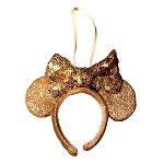 Disney Ornament - Minnie Ear Headband - Rose Gold