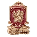 Universal Pin - Harry Potter - Gryffindor Quidditch Crest Sculpted