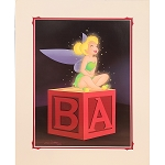 Disney Deluxe Artist Print - Tinker Bell Laugh by Don ''Ducky'' Williams