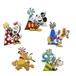 Disney Booster Pin Set - Mickey Mouse and Friends - Celebrate