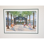 Disney Artist Print - Port Orleans French Quarter Resort by Larry Dotson